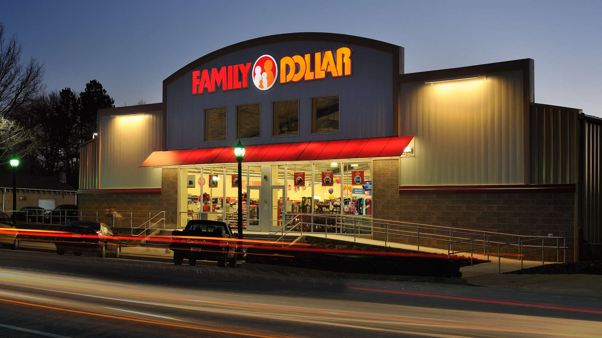 Commercial interior architectural design photographers for Interior by designs family dollar